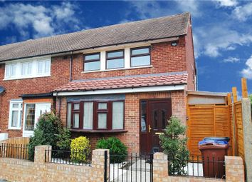Thumbnail 3 bed end terrace house for sale in Anton Road, South Ockendon, Essex