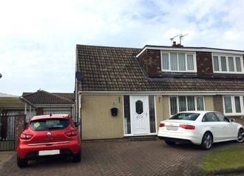 Thumbnail 2 bed semi-detached bungalow for sale in Mowbray Road, Hartlepool