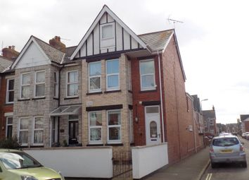 Thumbnail 3 bed flat for sale in Woodville Road, Exmouth, Devon