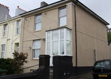 Thumbnail 1 bed flat to rent in Hyde Park Road, Plymouth