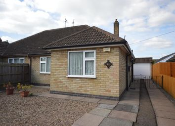 Thumbnail 2 bed semi-detached bungalow for sale in Edgeley Road, Countesthorpe, Leicester