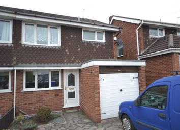Thumbnail 3 bed semi-detached house to rent in Debenham Crescent, Stoke-On-Trent