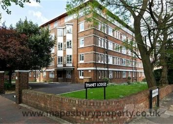 Thumbnail 3 bedroom flat to rent in Thanet Lodge, Mapesbury Road, Mapesbury