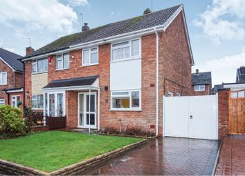 Thumbnail 3 bed semi-detached house for sale in Andrew Drive, Willenhall