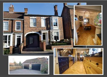 Thumbnail 4 bed town house for sale in Upgate, Louth