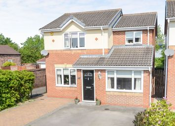 Thumbnail 4 bedroom detached house for sale in Thorntree Grove, York