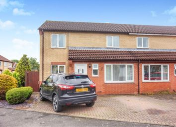 Thumbnail 3 bed semi-detached house for sale in Hunters Drive, Metheringham, Lincoln