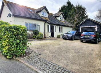 Thumbnail 4 bed detached bungalow to rent in Lower Road, Hemingstone, Ipswich
