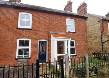 Thumbnail 2 bed terraced house for sale in Kimberley Street, Wymondham