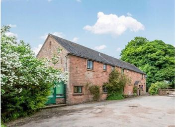 Thumbnail 4 bed equestrian property for sale in Rudyard, Leek