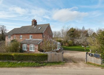 Thumbnail 3 bed semi-detached house for sale in Cowlinge, Newmarket