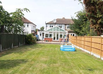 Thumbnail 4 bed semi-detached house to rent in Woodlands Road, Gidea Park, Romford