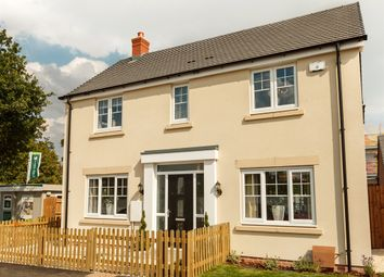 "Thumbnail 4 bed detached house for sale in ""The Himbleton"" at Bransford Road, Rushwick, Worcester"