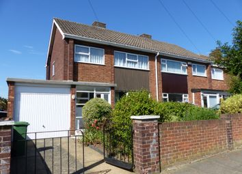 Thumbnail 3 bed semi-detached house to rent in Braemar Road, Cleethorpes, North East Lincolnshire