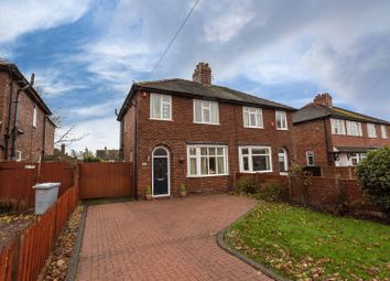 Thumbnail 3 bed semi-detached house for sale in 67 Wistaston Green Road, Crewe
