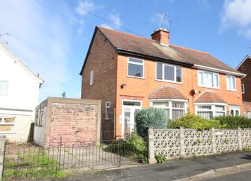 Thumbnail 3 bed semi-detached house for sale in Burleigh Road, Hinckley, Leicestershire