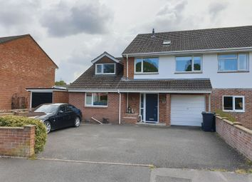Thumbnail 5 bed semi-detached house for sale in Northmoor Way, Wareham
