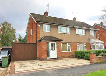 3 bed semi-detached house for sale in Gloucester Crescent, Wigston LE18