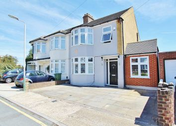Thumbnail 3 bedroom semi-detached house for sale in Lonsdale Avenue, Romford