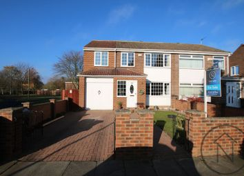 Thumbnail 4 bed semi-detached house for sale in Luttryngton Court, Newton Aycliffe