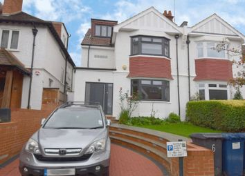 Thumbnail 5 bed semi-detached house to rent in Middleton Road, Golders Green