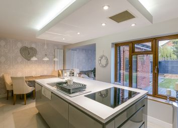 Thumbnail 4 bed detached house for sale in Camelot Way, Narborough, Leicester