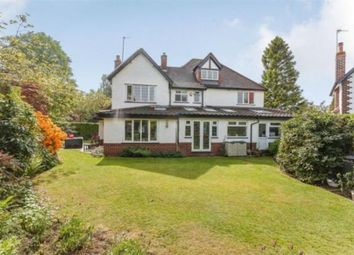 Thumbnail 5 bed detached house to rent in Chapel Lane, Hale Barns, Altrincham