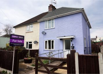 Thumbnail 3 bed semi-detached house for sale in Fairfield Road, Lydney