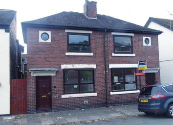 Thumbnail 1 bedroom semi-detached house for sale in Davis Street, Hanley, Stoke-On-Trent