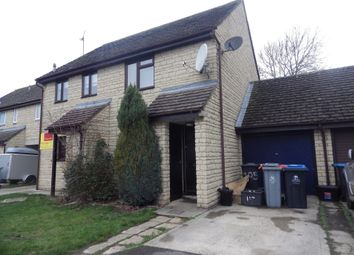 Thumbnail 2 bed semi-detached house to rent in Cogges Hill Road, Witney, Oxfordshire