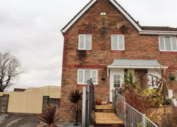 Thumbnail 3 bed semi-detached house for sale in Heol Barcud, Birchgrove, Swansea