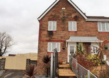 Thumbnail Semi-detached house for sale in Heol Barcud, Birchgrove, Swansea