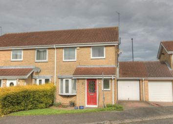 Thumbnail 3 bedroom semi-detached house for sale in Dereham Court, Meadow Rise, Newcastle Upon Tyne