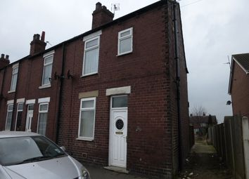 Thumbnail 2 bed end terrace house to rent in Girnhill Lane, Featherstone