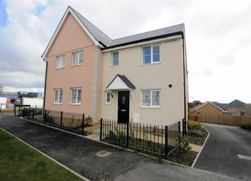 Thumbnail 3 bed semi-detached house for sale in Sandpiper Road, Bude, Cornwall