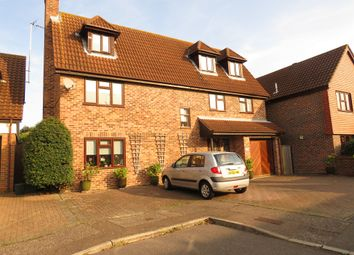 Thumbnail 5 bed detached house for sale in Estella Mead, Chelmsford