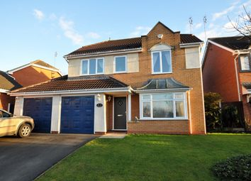 Thumbnail 4 bed detached house for sale in Greenway, Burton-On-Trent