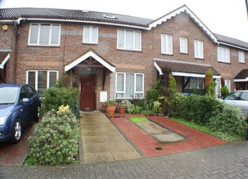 Thumbnail 3 bed terraced house for sale in Cobham Close, Edgware, Middlesex, U.K