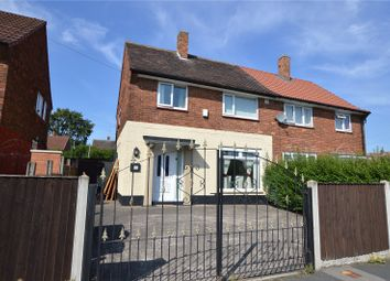 Thumbnail 3 bed semi-detached house for sale in Mill Green Close, Leeds, West Yorkshire
