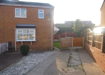 Thumbnail 3 bed semi-detached house to rent in Cranborne Close, Mansfield