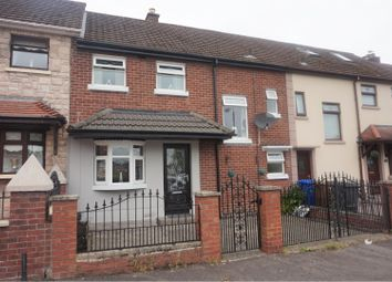 Thumbnail 3 bed terraced house for sale in Benraw Road, Belfast