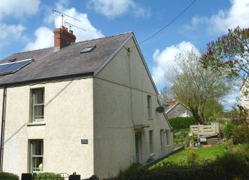 Thumbnail 3 bed semi-detached house for sale in Rock Cottage, Llanmill, Narberth, Pembrokeshire