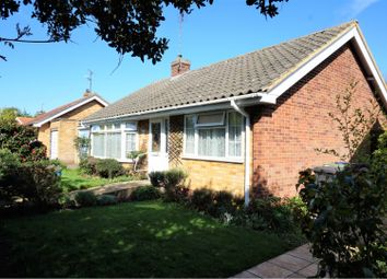 Thumbnail 2 bed detached bungalow for sale in Alexandra Road, Whitstable