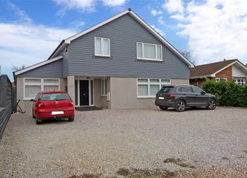 Hazlemere Road, Seasalter, Whitstable, Kent CT5. 4 bed detached bungalow for sale