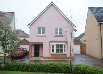 Thumbnail 4 bedroom detached house for sale in Swallows Close, Hollesley, Woodbridge, Suffolk