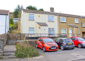 Thumbnail 2 bed semi-detached house to rent in Library Close, Pentre