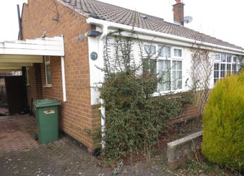 Thumbnail 2 bed detached bungalow for sale in Chatsworth Road, Heswall, Wirral