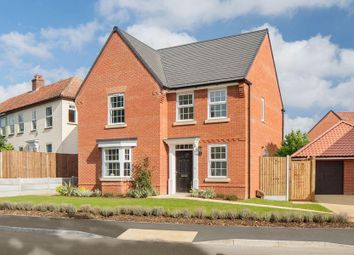 "Thumbnail 4 bed detached house for sale in ""Bradbury"" at Reeds Lane, Banningham Road, Aylsham, Norwich"