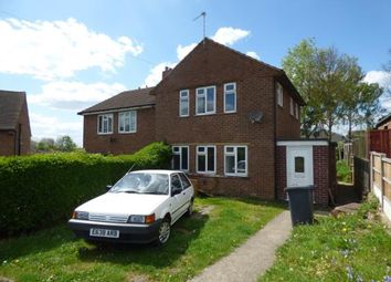 Thumbnail 2 bedroom semi-detached house for sale in Chestnut Avenue, Midway, Swadlincote, Derbyshire
