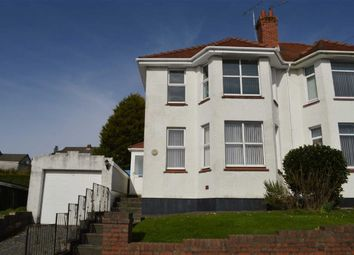 Thumbnail 3 bedroom semi-detached house for sale in Bayswater Road, Swansea